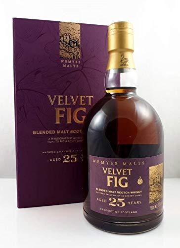Wemyss Malts VELVET FIG 25 Years Old Blended Malt Scotch Whisky Whisky (1 x 0.7 l)