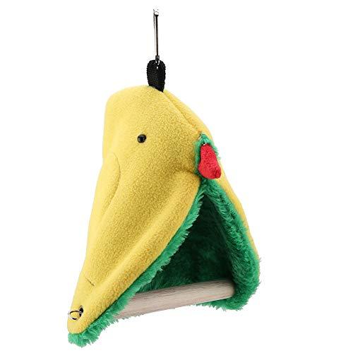 KUIDAMOS El diseño de la Carpa Tipo Hamaca para pájaros Reduce el estrés y el aburrimiento