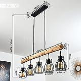Pendelleuchte Gondo Metall/Holz LED - 4