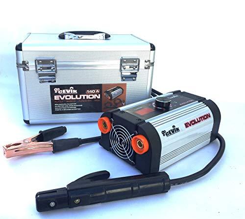 Cevik  CE-Evolution18X - Equipo de soldadura inverter, 140 A, 230 V (Reacondicionado)