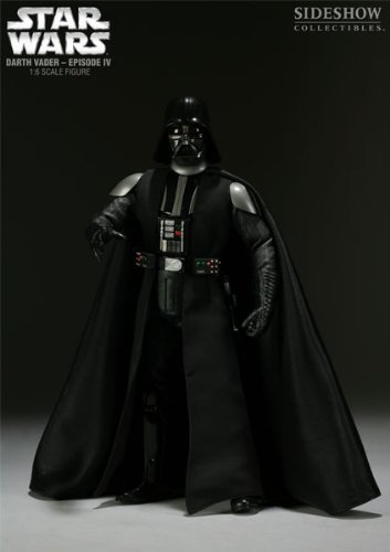Star Wars Sideshow Collectibles Deluxe 12 Inch Action Figure Darth Vader [Toy] image