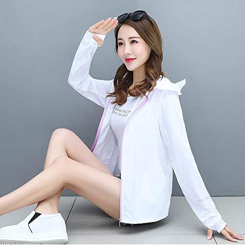Yunbai UPF 50+ de protección Solar Largo/Manga Corta al Aire Libre de la Camiseta, Otoño Sun Cardigan 2020 Mujeres de Protección Solar Camisa Capa Encapuchada Manera de Las Tapas de Las Mujeres Anti