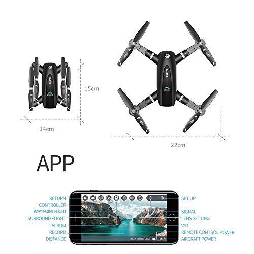 Amyove S167 GPS Drohne Mit Kamera 5G RC Quadcopter Drohne 4 Karat WiFi FPV Faltbare Off-Point Fliegen Geste Fotos Video Hubschrauber Spielzeug 5G 4K 2 Batterie