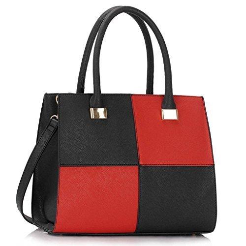 TrendStar alle donne sacchetti a tracolla signore borsa a mano in ecopelle celebrità della moda di stile