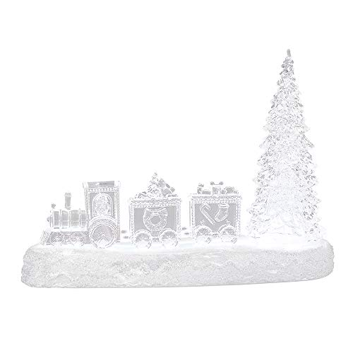 Noël Acrylique Robin Design Lumière pour cadeau amour perdu un arbre de Noël Déco