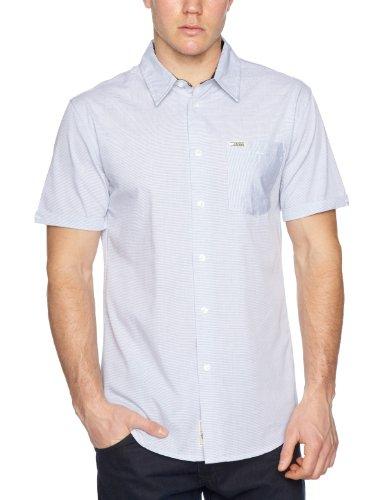 Etnies Herren Hemd The Outsider Short Sleeve Woven, White, M, 4130002417