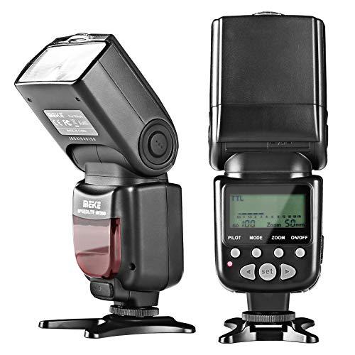 Meike MK950C TTL Speedlite Camera Flash Compatible with EOS Cameras 4000D EOS 5D II 6D 7D 50D 60D 70D 550D 600D 650D 700D 580EX 430EX