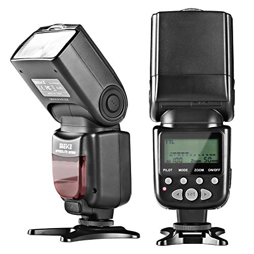 Meike MK950N TTL Camera Flash Speedlite for Nikon D5300 D7100 D7000 D5200 D5000 D3100 D3200 D600 D90 D80 Z6 Z7 etc