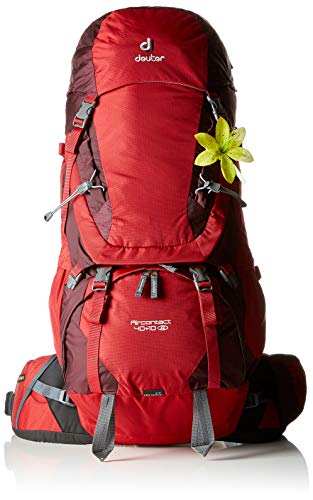 Deuter Aircontact 40 10 SL Trekking-Rucksack Cranberry/Aubergine