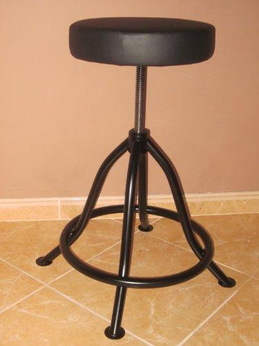 LIBEDOR Stehhilfe Stehhocker Stehsitz Sitz Stehstütze mit ergonomischer Sitz 6 cm dickem Polster bis 150 kg! Belastbar Stufenlos einstellbar