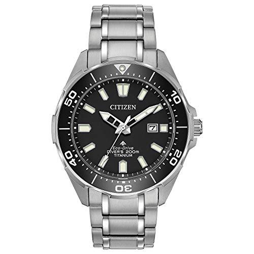 Citizen BN0200-56E Men's Promaster Diver Black Dial Titanium Watch