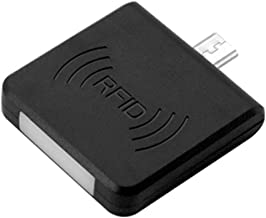 Shentesel Micro USB Interface NFC IC Card Mini RFID Reader for Android Cell Phone - Black