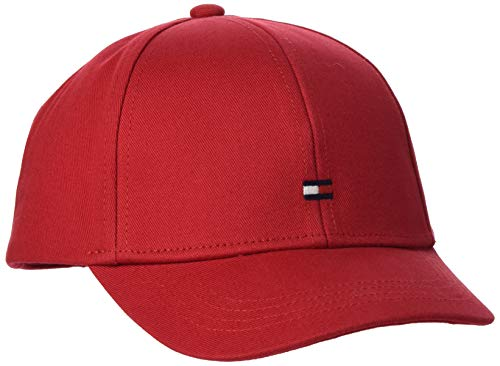 Tommy Hilfiger Unisex Bb Baseball Cap, Rot (Primary Red XLG), Large