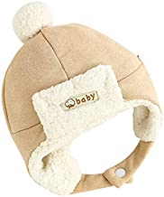 Paladoo Baby Hat with Cute Earflap Warm Fleece Lining 0-24 Months Winter