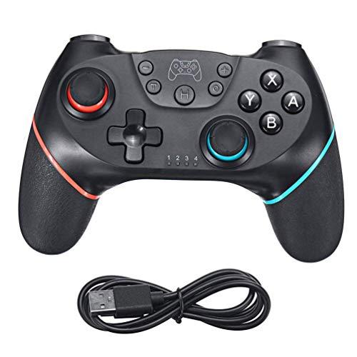 ZOUJUN Gamepad Bluetooth Controller Haute Performance Manette de Jeu avec Vibration 6 Axes somatosensoriel contrôleur sans Fil