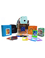 Fujifilm Instax Mini 9 Festive Pack Instant Camera (Ice Blue)