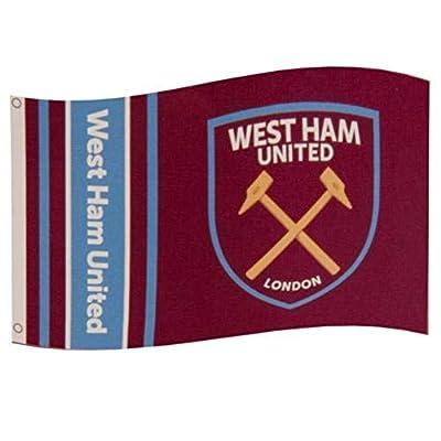 West Ham United FC Stripe Flag - Authentic EPL