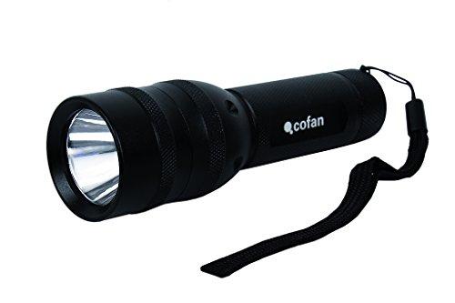 9 LED Lampe de poche torche à LED en Alu 3 piles AAA Camelion CT-4004