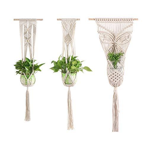 Klassikaline Blumenhänger Pflanzhänger Pflanzen Halter Aufhänger für Innen Außen Decken Balkone Wanddekoration