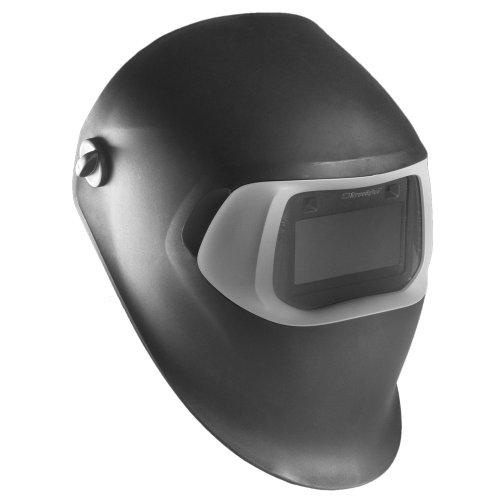3M Speedglas Black Welding Helmet 100, Welding Safety 07-0012-31BL-HA with Hard Hat Adapter and Speedglas Auto-Darkening Filter 100V, Shades 8-12 (Hard Hat is not Included)