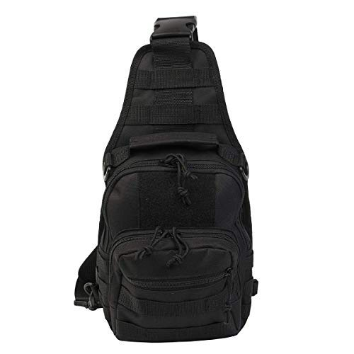 Tactical Sling Pack Military Rover Shoulder Daypack Departed Outdoor...