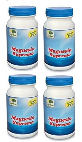 NATURAL POINT-MAGNESIO SUPREMO 4 CONFEZIONI DA 150 GR