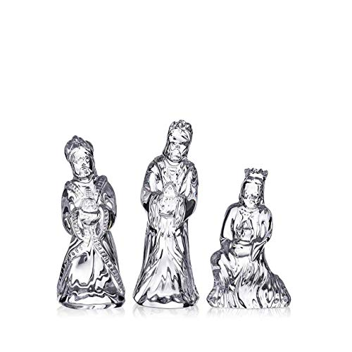 Waterford Crystal Set of Three Wise Men Nativity Figurines