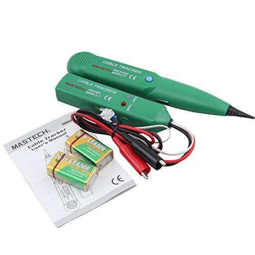 BMOT Netzwerk Kabeltester Leitungsdetektor Professionell Netzwerk Werkzeug für Netzwerk Wartung Collation Telefonleitungstest Durchgangsprüfung