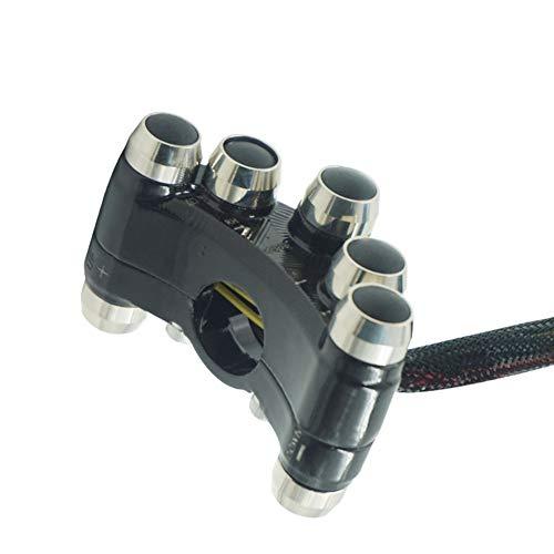 Interruptores de la Motocicleta Interruptor de Control del Manillar for la luz de intermitencia del Faro Luz de Niebla Bocina ON Off Botones de Interruptor W.S.T.T.S.W