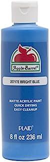 Apple Barrel Acrylic Paint (8 Ounce), Bright Blue, 8 oz, 8 Fl Oz