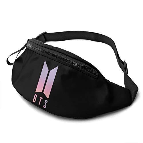 Joseph E Hinton BTS Casual Waist Bag Fitness Belt Bag Men Women