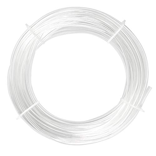 Tailonz Pneumatic Clear 1/4 Inch OD 10 Meters PU Air Tubing Pipe Hose Pu Air Hose for Air Line Tubing or Fluid Transfer Tubing