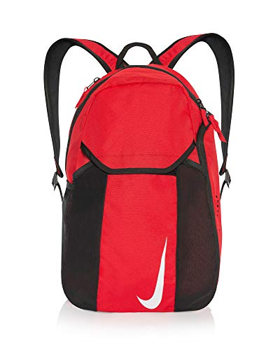 Nike Academy Team Backpack - Black/Black/White, 48 x 35 x 17 cm, 30 Litre BA5501-010