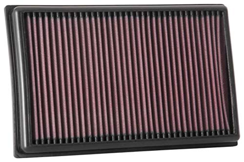 K&N 33-3111 Motorluftfilter: Hochleistung, Prämie, Abwaschbar, Ersatzfilter, Erhöhte Leistung, 2017-2019 (Leon, Scala, Superb, Arteon, Golf, Passat, T-Roc, Tiguan, Touran, A3)