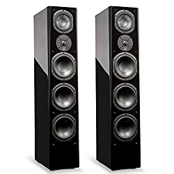 SVS Prime Pinnacle – 3-Way Tower Speaker (Pair) - Piano Gloss Black