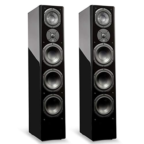 Best Price SVS Prime Pinnacle – 3-Way Tower Speaker (Pair) - Piano Gloss Black