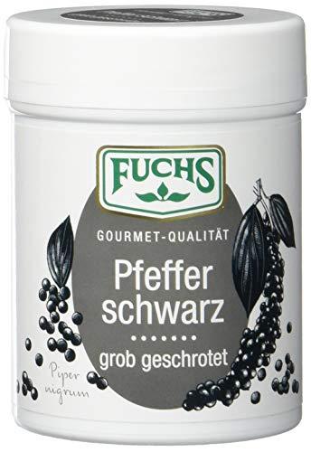 Fuchs Pfeffer schwarz geschroten, 2er Pack (2 x 60 g)