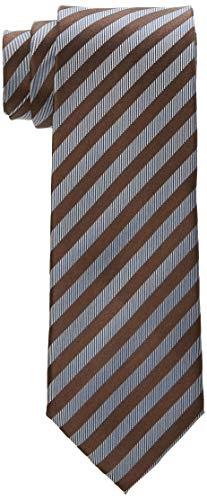 BUGATTI 6002-90001 Cravatta, Marrone (Braun 80), Taglia unica Uomo