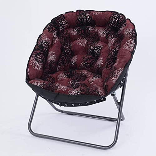 N&O Renovation House Fucsia Blanco y Negro Estampados Florales Silla Plegable Chaise Longue Lounge Chair Sofá Silla