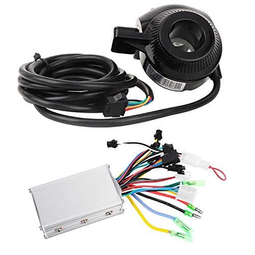 Uxsiya Pantalla LCD Panel Dial Instrumento Alta robustez Scooter eléctrico Controlador sin escobillas para deportes escolares para montar en sendero (36V)