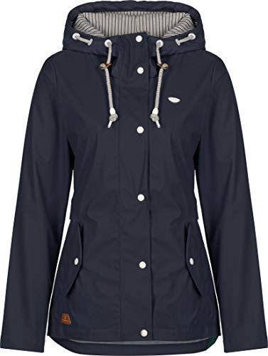 Ragwear Damen Jacke, Größe:XXL, Farbe:dunkelblau