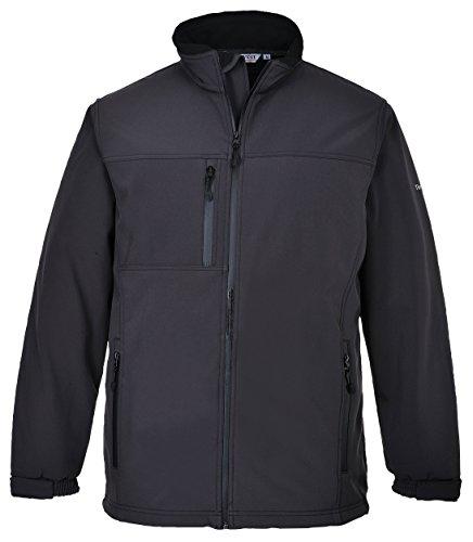 Portwest TK50GRRXXL Softshell Jacket 3 Layer Regular Size 2X Large Grey