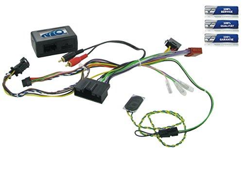NIQ Lenkradfernbedienungsadapter geeignet für Nanox Autoradios, kompatibel mit Ford C-MAX & Focus ab Bj. 2011