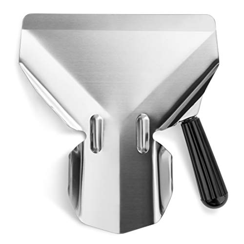New Star Food Service 37807 Stainless Steel Commercial French Fry Bagger, Right Handle