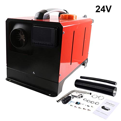 Best Buy! tralasume 5KW 12V/24V Parking Heater Diesel Air Heater Fuel Oil Heater It Can Provide Heat...