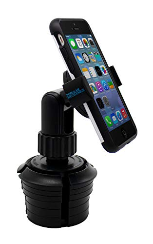 Popular Mechanics Phone Mount – Universal Cup Holder Phone Mount with Expandable No-Slip Grip,...