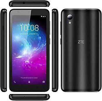 ZTE Blade A3 Lite 5.0  18 9 Display 8MP Camera Quad-Core Android 9.0 Go  LTE USA Latin Caribbean  4G LTE GSM Unlocked Smartphone - International Version  Black 32GB