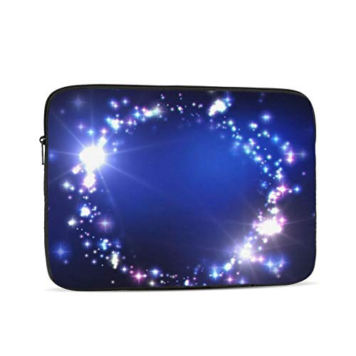 Bright Ball Shape Laptop Sleeve 10 inch, Shock Resistant Notebook Briefcase, Computer Protective Bag, Tablet Carrying Case for MacBook Pro/MacBook Air/Asus/Dell/Lenovo/Hp/Samsung/Sony