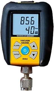 Fieldpiece SVG3 Digital Vacuum Gauge with Alarm