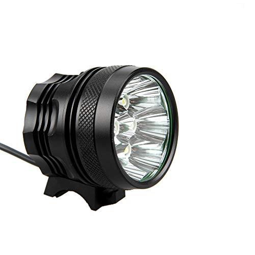 wwwl Luz de la Bicicleta Luz de Bicicleta LED 5 Modos Faro lámpara de Ciclismo + luz Trasera + Diadema
